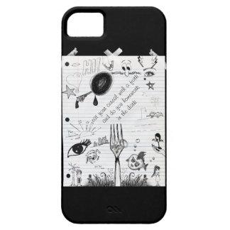 Bombee para arriba el volumen inspirado iPhone 5 carcasa