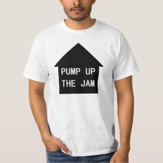 Bombee para arriba la camiseta de la reproducción remeras