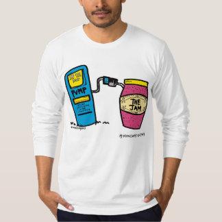 Bombee para arriba la camiseta del atasco polera