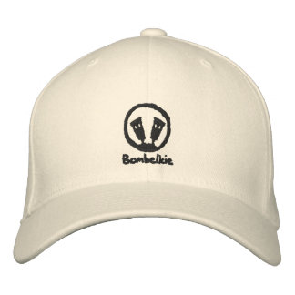 Bombelkie Embroidered Basic Flexfit Wool Cap
