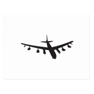 Bomber Aircraft Postcard