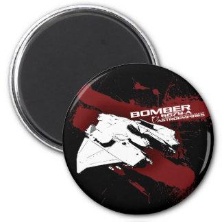 Bomber black magnet