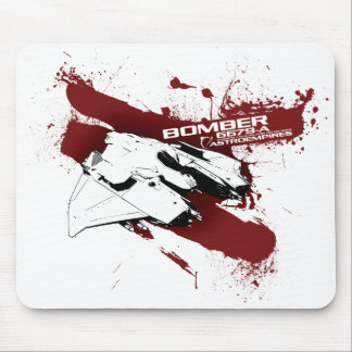 Bomber splash mouse pad