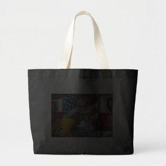 Bombero - candente bolsa lienzo