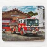 Bombero - compañía de bomberos 1 de la unión alfombrillas de raton