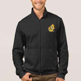 Bombero con una chaqueta para hombre de la manguer