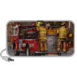 Bombero - cuerpo de bomberos de Metuchen iPod Altavoz