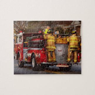 Bombero - cuerpo de bomberos de Metuchen Rompecabezas