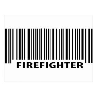 bombero de servicio postal