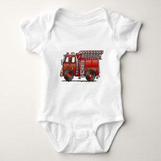 Bombero del coche de bomberos de la escalera body para bebé