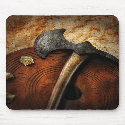 Bombero - el hacha del fuego alfombrilla de raton