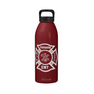 Bombero EMT Botellas De Agua Reutilizables