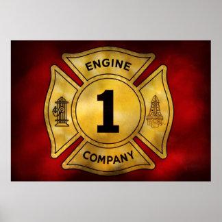 Bombero - Engine Company 1 Posters