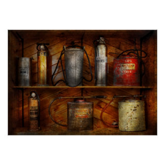 Bombero - extinción de incendios posters