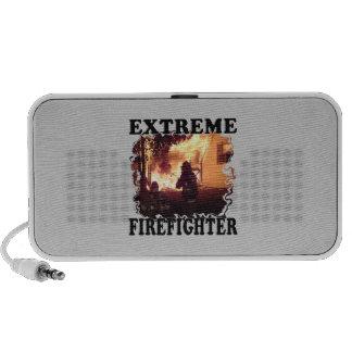Bombero extremo iPod altavoces
