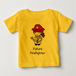 Bombero futuro camisas