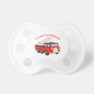 Bombero futuro chupetes para bebés