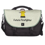 bombero futuro (muchacho) bolsas de portátil