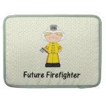 bombero futuro (muchacho) funda para macbooks