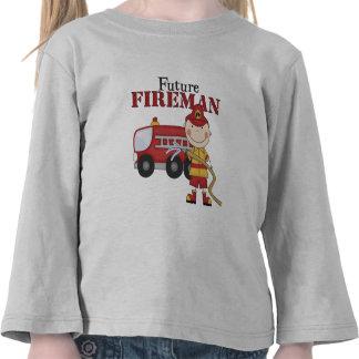 Bombero futuro camiseta