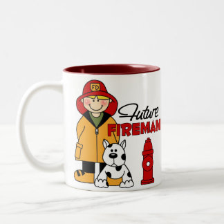 Bombero futuro taza de café