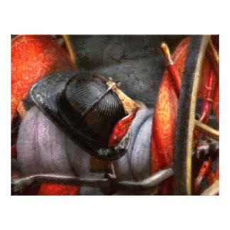 Bombero - gorra - departamento del sur del fuego d tarjetas publicitarias