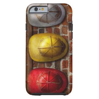Bombero - gorras - escoja un gorra, cualquier funda de iPhone 6 tough