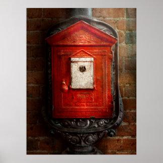 Bombero - la caja del fuego poster