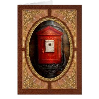 Bombero - la caja del fuego felicitación