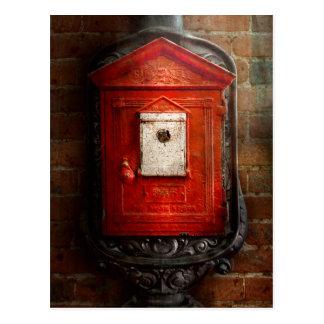 Bombero - la caja del fuego tarjetas postales