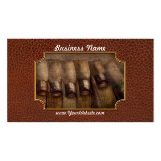 Bombero - manguera - equipo muy importante tarjeta de visita