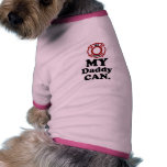 Bombero.  MI papá Can. Camisetas De Mascota