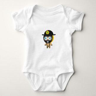Bombero - mi parque de la protección t-shirts