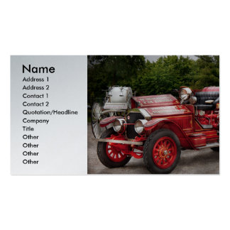 Bombero - Phoenix No2 Stroudsburg, PA 1923 Tarjetas Personales