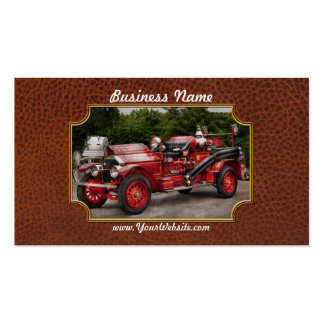 Bombero - Phoenix No2 Stroudsburg, PA 1923 Plantilla De Tarjeta De Visita