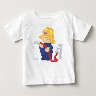 Bombero Playera Para Bebé