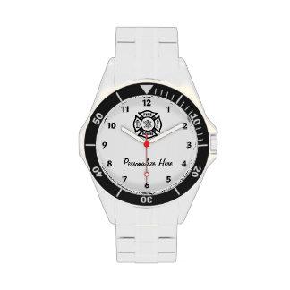 Bombero Reloj De Mano