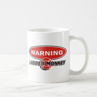 bombero taza de café