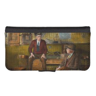 Bomberos - compartiendo su sabiduría - 1942 fundas billetera para teléfono