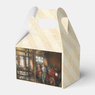 Bomberos - contestación del firebell 1922 caja para regalos de fiestas
