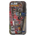 Bomberos - el coche de bomberos moderno funda de iPhone 6 tough