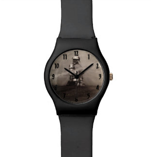 Bomberos en el trabajo relojes de pulsera
