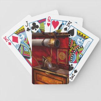 Bomberos - un trabajo elegante baraja de cartas bicycle