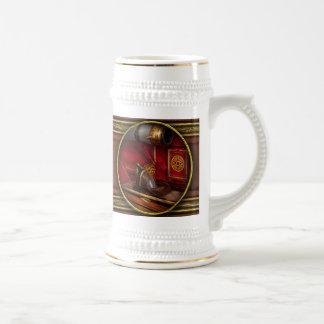 Bomberos - un trabajo elegante jarra de cerveza