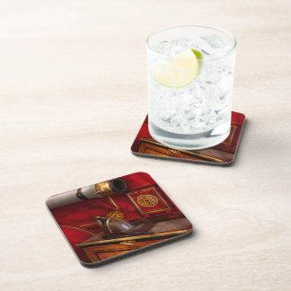 Bomberos - un trabajo elegante posavasos de bebida