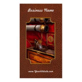 Bomberos - un trabajo elegante tarjeta de negocio