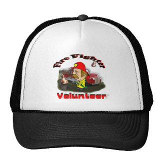 Bomberos voluntarios gorro de camionero
