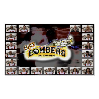 Bombers Lineup Poster