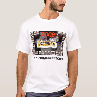 Bombers Lineup T-Skirt T-Shirt