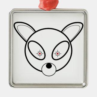 Bombi: Deer Con One Metal Ornament